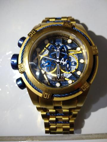 3b4ecc5dd5d Relógio invicta zeus bolt esqueleto - Bijouterias