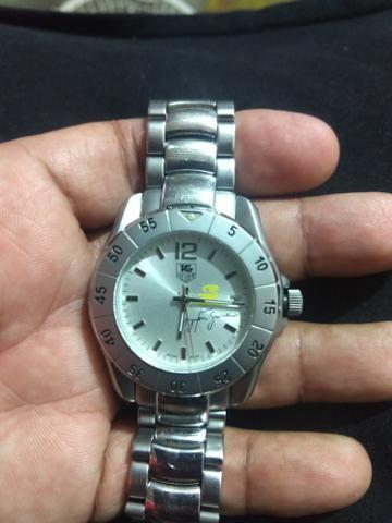 541971d9d5e Relógio Tag Heuer Ayrton Senna Automático qualidade AAA ...
