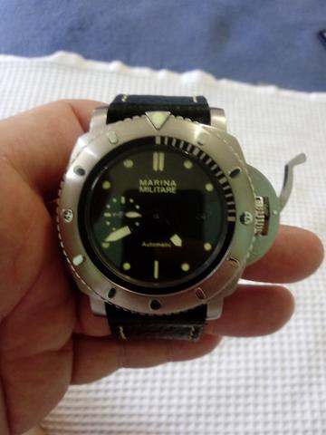 81203250cb7 Relógio automático estilo Panerai masculino - Bijouterias