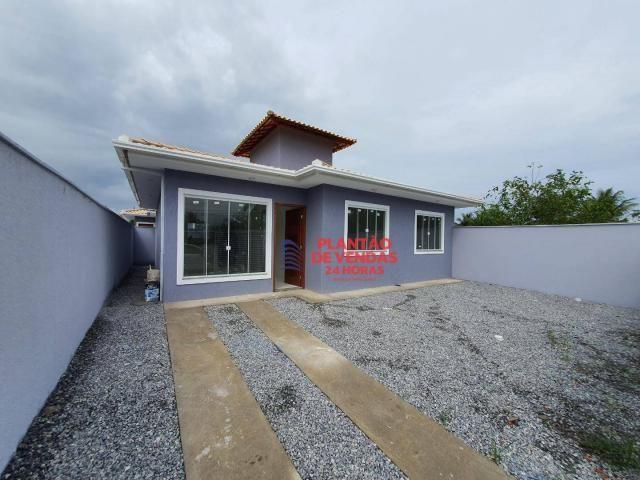 Ótimas casas lineares 3 quartos (opção de piscina e deck) - Enseada das Gaivotas - Rio das - Foto 3
