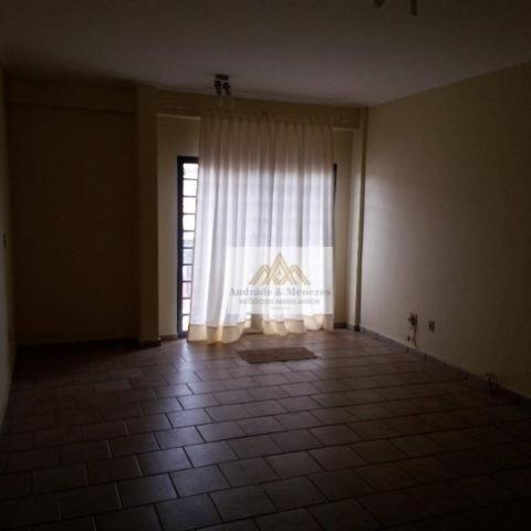 Apartamento com 3 dormitórios para alugar, 89 m² por R$ 1.050/mês - Vila Tibério - Ribeirã - Foto 3