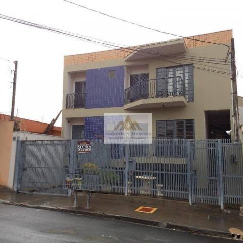 Apartamento com 3 dormitórios para alugar, 89 m² por R$ 1.050/mês - Vila Tibério - Ribeirã