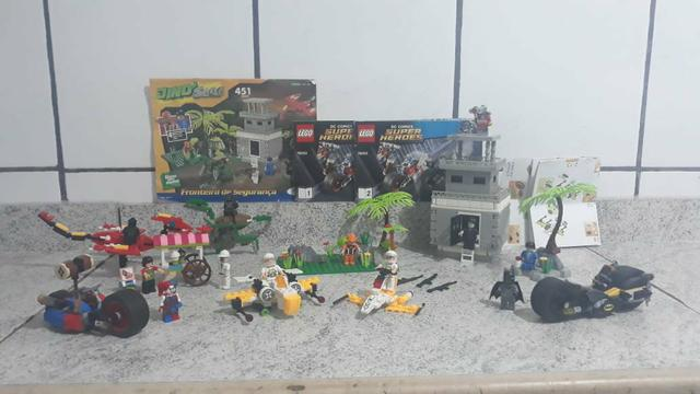 Legos Batman, Dino, Sorveteria e astronautas