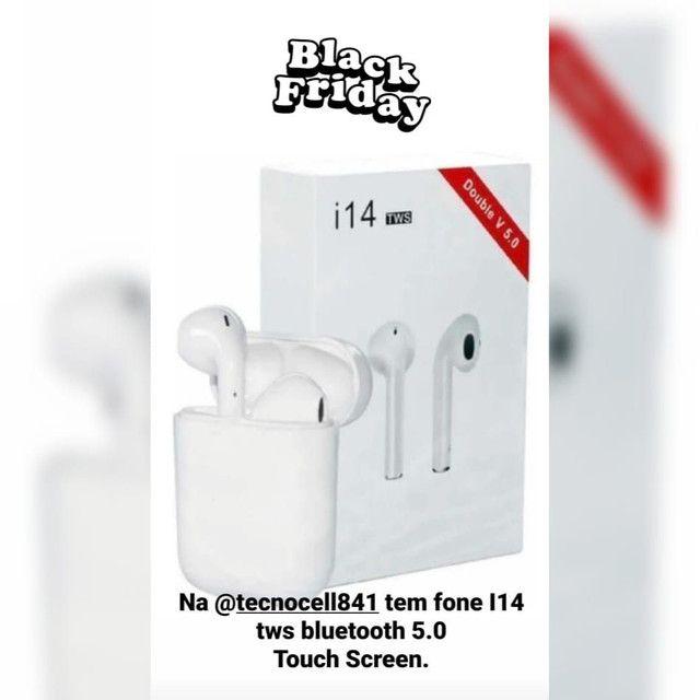 Fone De Ouvido Sem Fio Bluetooth I14 Mini Tws Android iPhone - Foto 2