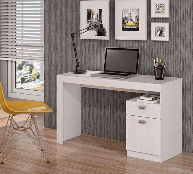Mesa para escritório / Escrivaninha modelo Melissa - pronta entrega - Foto 4