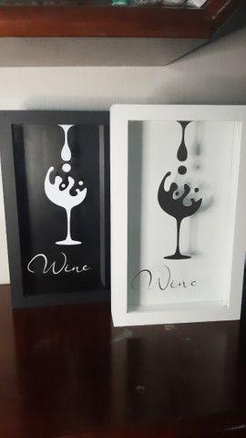Quadros rolha de vinho - Foto 2