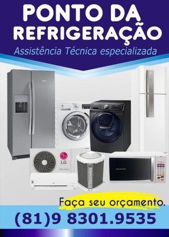 Geladeira , lavadoras , microondas , entre outros