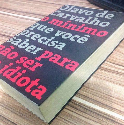 Livro do Olavo de Carvalho - Foto 2