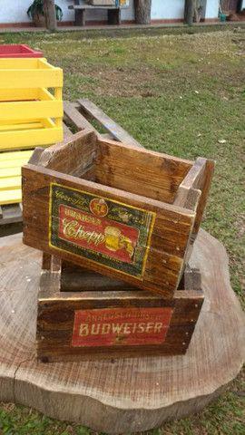 Caixote Vintage cerveja - Foto 3