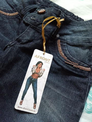 Calça jeans Afront Nova - Foto 4