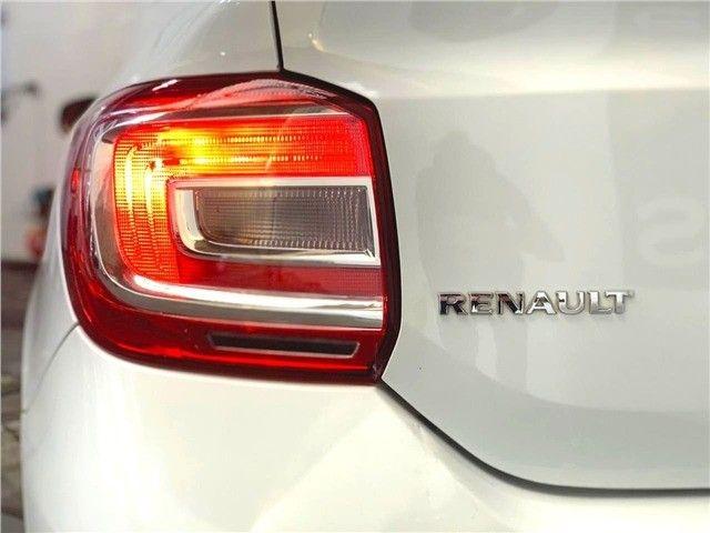 Novíssimo! Renault Logan 1.0 12v Flex Authenique Manual 2019 (+pequena entrada)  - Foto 7