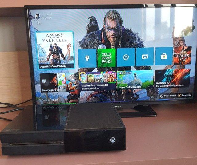XBox One 500gb + 18 jogos + 3 controles
