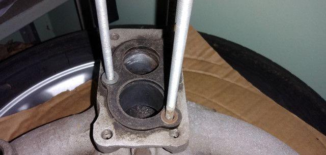 Carburador 3e, h30 34 BLFA, miniprogressivo. Coletor chevette, mufla - Foto 17