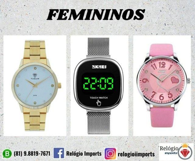 Relógios femininos variados