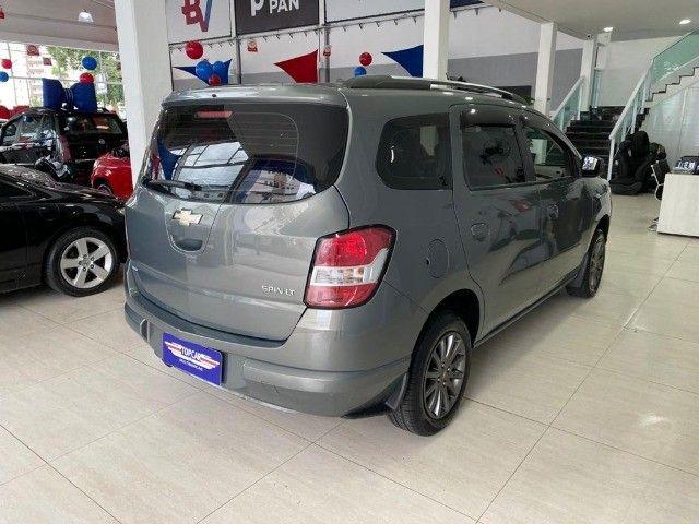 Chevrolet Spin Lt 1.8 Automática 2014 Cinza - Foto 6