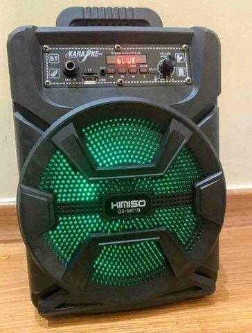 Caixa de som 1000Watts + controle + microfone(Entregamos no mesmo dia) - Foto 2