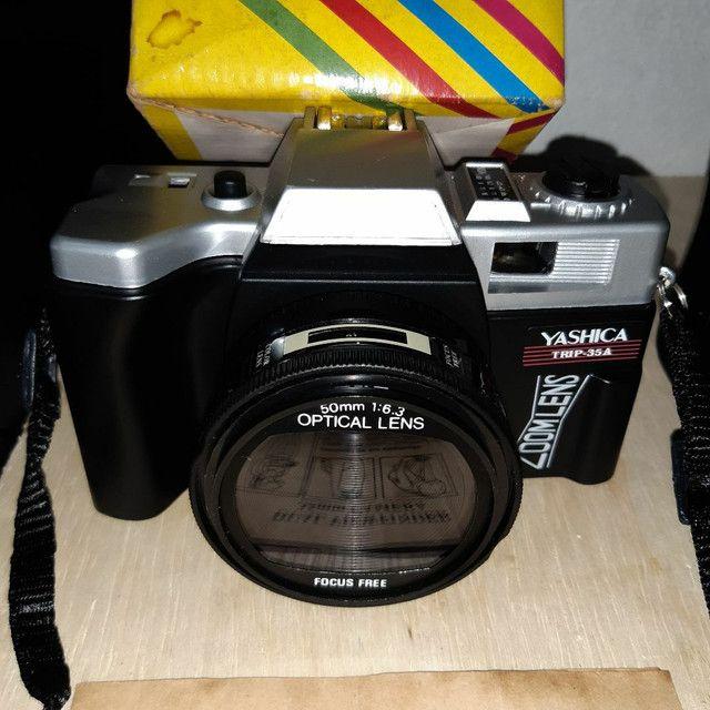 Câmera antiga para colecionar s/ uso - Foto 4