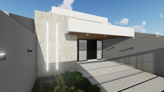 Casa Térrea   127,00 m² de Área Construída   Jd. Espanha - Foto 2