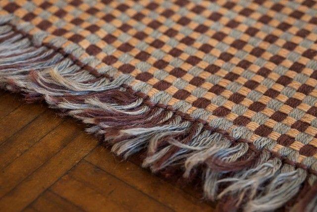Lindíssimo tapete de algodão grande 148cm x 215cm