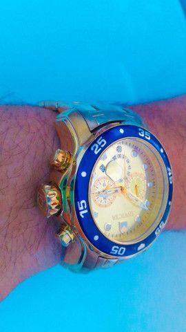 Relógio Invicta Dourado 18k  - Foto 3