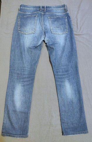Calça Jeans Jeanswear Slim Fit Azul-Claro Tam 42 - Foto 2