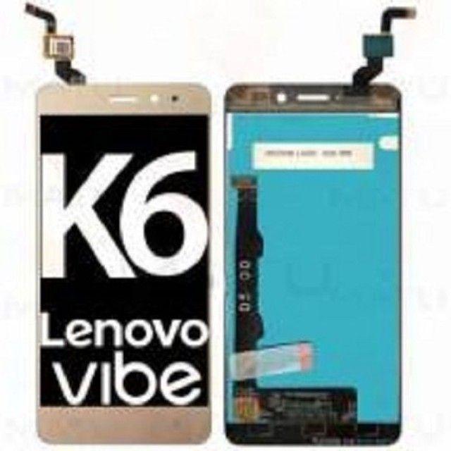 Tela Touch Display Lenovo C2 K5 K6 K6 Plus - Foto 2