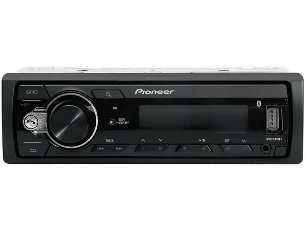 Som Automotivo Pioneer MP3 Player Rádio AM/FM - Bluetooth USB Auxiliar MVH-S218BT<br><br> - Foto 4