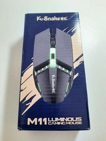 Mouse Gamer K-Snake M11 Luminosidade