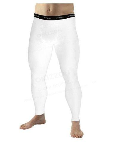 Calça de compressão para treino masculina legging térmica - Foto 2
