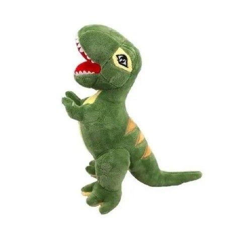 Bichinho De Pelúcia Dinossauro T-rex Aveludado 60cm - Foto 5