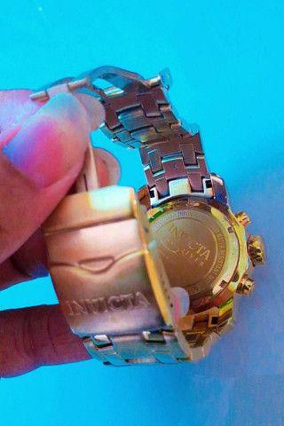 Relógio Invicta Dourado 18k  - Foto 4