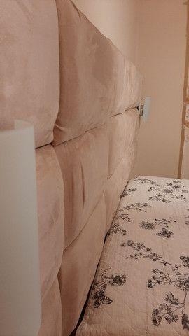 Cabeceira de cama de casal - Foto 2