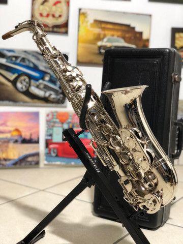Sax Alto Evette Schaeffer Made in Paris France - Foto 4