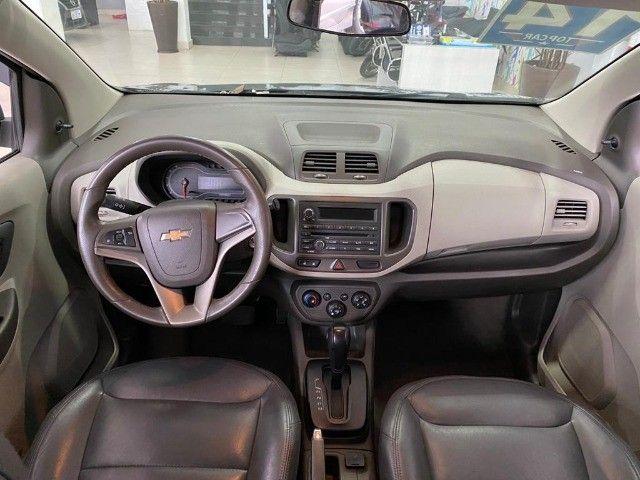 Chevrolet Spin Lt 1.8 Automática 2014 Cinza - Foto 2