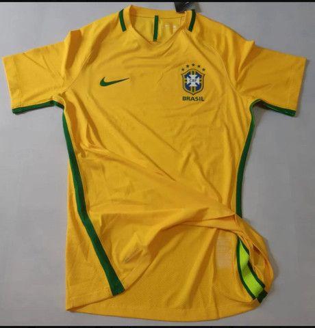Camisa Seleção Brasileira 17/18 VERSÃO JOGADOR' Nova com Etiqueta.