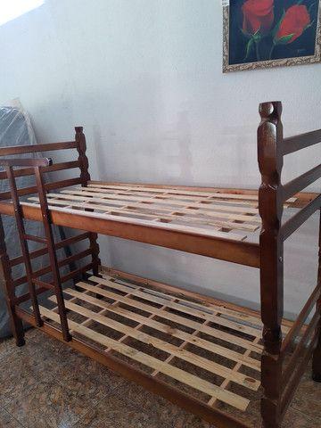 Beliches novas madeira maciça em promoção