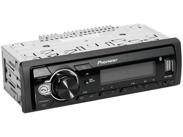 Som Automotivo Pioneer MP3 Player Rádio AM/FM - Bluetooth USB Auxiliar MVH-S218BT<br><br> - Foto 3
