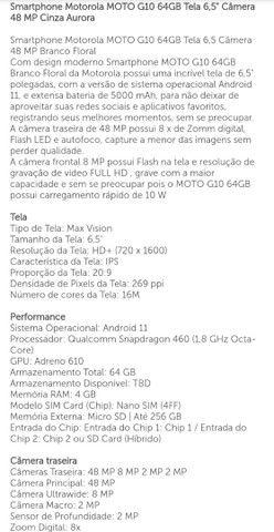 Moto G10  - Foto 2