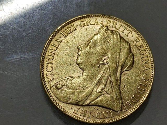 Moeda de Ouro  p/ Colecionador - Foto 2