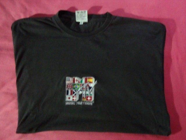 Camiseta Mtv - Music Television Oficial - Tamanho G - Foto 5