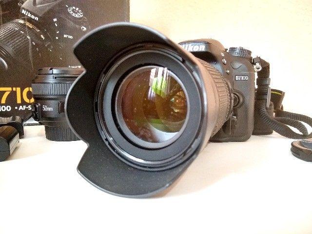 Camera Nikon D7100 + 18-105mm + 50mm - Foto 3