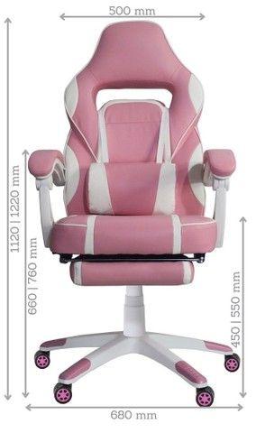 Mega Oferta KIT Cadeira Gamer reclinável e Mesa Gamer  com Garantia e Com Entrega Grátis   - Foto 2