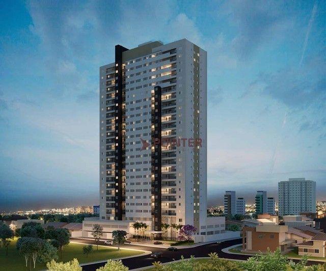 Apartamento com 2 dormitórios à venda, 61 m² por R$ 291.701,76 - Aeroviário - Goiânia/GO - Foto 14