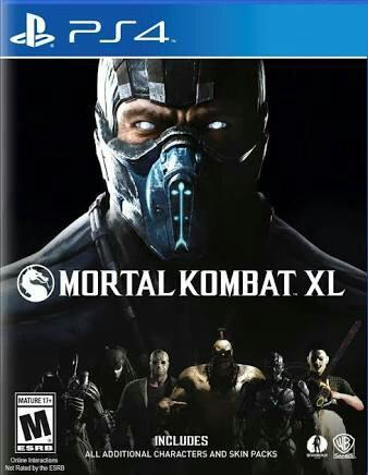 Mortal Kombat XL Game Jogo PS4 Lacrado