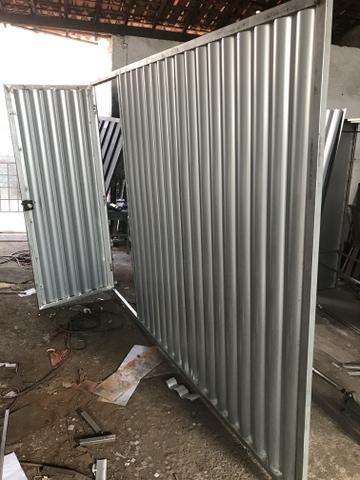 Portão galvanizado 800,00
