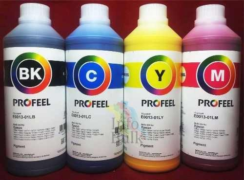 Tinta Pigmentada para Impressoras Epson Profeel Inktec do Brasil