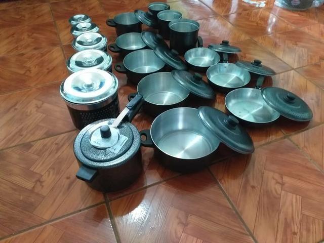 Kit completo 17 peças pra cozinha