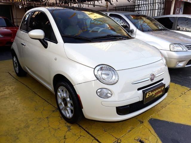 Fiat 500 Perola!! Financio Sem Ent. nao ka c3 onix 208 kwid up hb20 cooper mobi uno gol - Foto 3