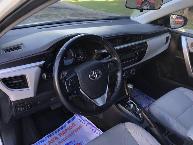 Toyota Corolla 2017 GLI Upper 1.8 Automático Flex Completo - Foto 11