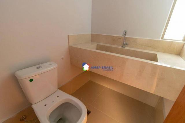 Apartamento com 3 dormitórios à venda, 230 m² por r$ 940.000,00 - setor bueno - goiânia/go - Foto 4